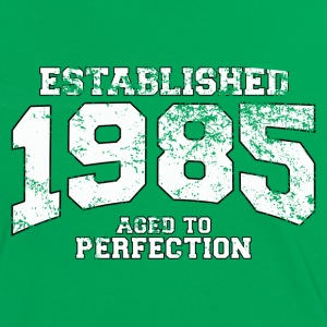 Geburtstag - established 1985 - aged to perfection - Frauen Kontrast-T-Shirt