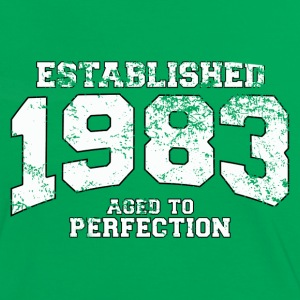 established 1983 - aged to perfection (fr) Tee shirts - T-shirt contraste Femme