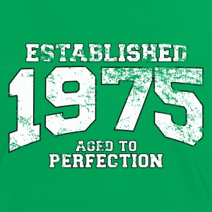 established 1975 - aged to perfection (fr) Tee shirts - T-shirt contraste Femme