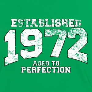 established 1972 - aged to perfection (fr) Tee shirts - T-shirt contraste Femme