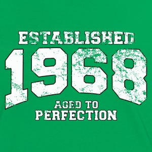 established 1968 - aged to perfection (uk) T-Shirts - Women's Ringer T-Shirt