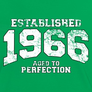established 1966 - aged to perfection (fr) Tee shirts - T-shirt contraste Femme