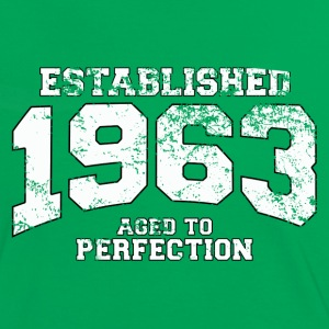 established 1963 - aged to perfection (fr) Tee shirts - T-shirt contraste Femme