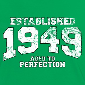 established 1949 - aged to perfection (fr) Tee shirts - T-shirt contraste Femme