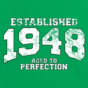 established 1948 - aged to perfection (no) T-skjorter - Kontrast-T-skjorte for kvinner