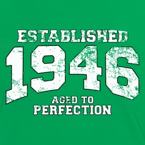established 1946 - aged to perfection (fr) Tee shirts - T-shirt contraste Femme
