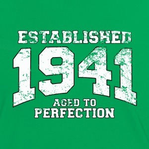 established 1941 - aged to perfection (nl) T-shirts - Vrouwen contrastshirt