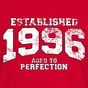 established 1996 - aged to perfection (fr) Tee shirts - T-shirt contraste Homme