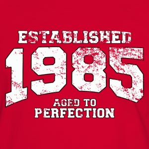 established 1985 - aged to perfection (fr) Tee shirts - T-shirt contraste Homme