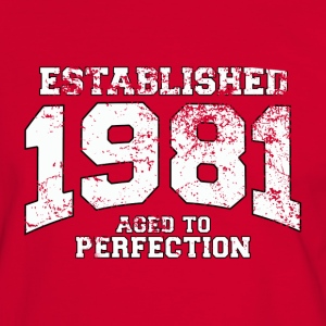 established 1981 - aged to perfection (fr) Tee shirts - T-shirt contraste Homme