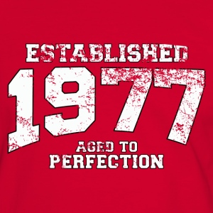 established 1977 - aged to perfection (uk) T-Shirts - Men's Ringer Shirt