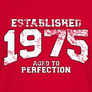 established 1975 - aged to perfection (fr) Tee shirts - T-shirt contraste Homme