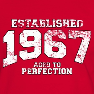 established 1967 - aged to perfection (fr) Tee shirts - T-shirt contraste Homme