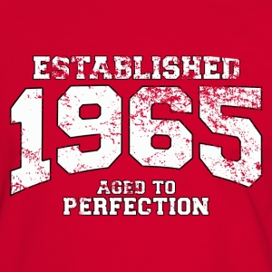 established 1965 - aged to perfection (es) Camisetas - Camiseta contraste hombre