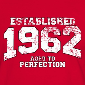 established 1962 - aged to perfection (es) Camisetas - Camiseta contraste hombre