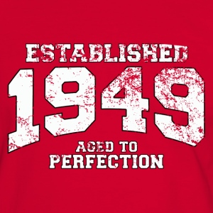established 1949 - aged to perfection (nl) T-shirts - Mannen contrastshirt