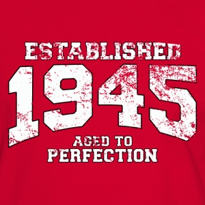established 1945 - aged to perfection (fr) Tee shirts - T-shirt contraste Homme