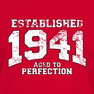 established 1941 - aged to perfection (fr) Tee shirts - T-shirt contraste Homme