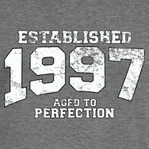 established 1997 - aged to perfection (uk) Hoodies & Sweatshirts - Women's Boat Neck Long Sleeve Top