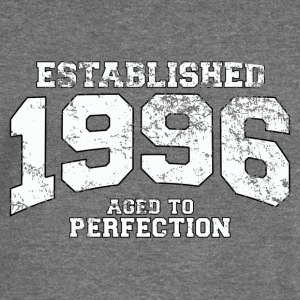 established 1996 - aged to perfection (uk) Hoodies & Sweatshirts - Women's Boat Neck Long Sleeve Top