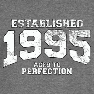 established 1995 - aged to perfection (uk) Hoodies & Sweatshirts - Women's Boat Neck Long Sleeve Top