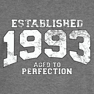 established 1993 - aged to perfection (uk) Hoodies & Sweatshirts - Women's Boat Neck Long Sleeve Top