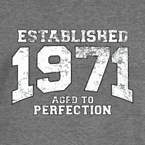 established 1971 - aged to perfection (nl) Sweaters - Vrouwen trui met U-hals van Bella