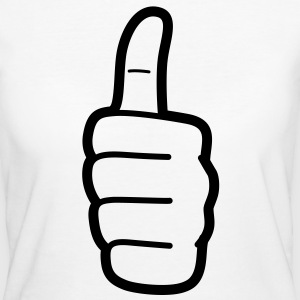 Thumbs Up (1c)++ Tee shirts - T-shirt Bio Femme