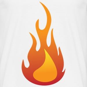 Flame (dd)++ T-shirts - Herre-T-shirt