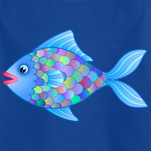 Fatty der Fisch Kinder T-Shirt - Teenager T-Shirt