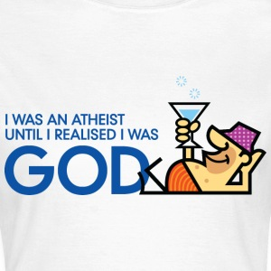 I Was An Atheist 3 (dd)++ T-shirts - Vrouwen T-shirt