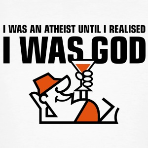 I Was An Atheist 1 (2c)++ T-Shirts - Men's Organic T-shirt