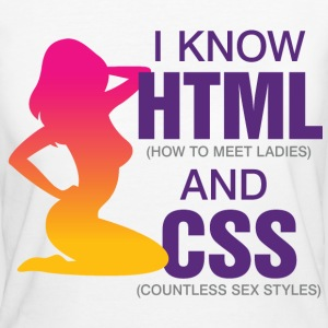 I Know Html 2 (dd)++ T-shirts - Organic damer