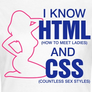 I Know Html 2 (2c)++ T-shirts - Vrouwen T-shirt