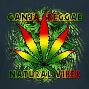 ganja reggae natural vibes T-Shirts - Frauen T-Shirt