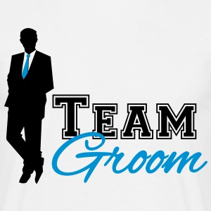 Team Groom  T-skjorter - T-skjorte for menn