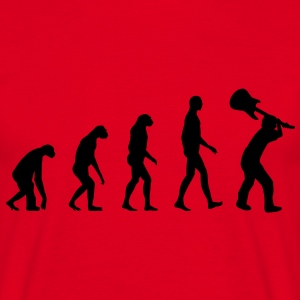 Evolution Rock - Musik T-Shirts - Men's T-Shirt