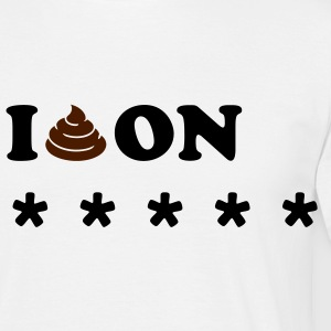 I SHIT ON... T-shirts - Herre-T-shirt