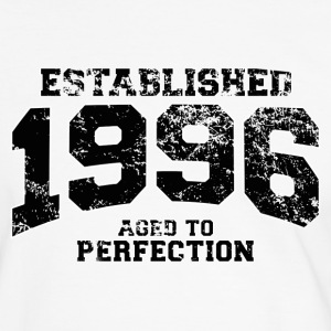 established 1996 - aged to perfection(uk) T-Shirts - Men's Ringer Shirt