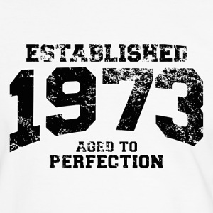established 1973 - aged to perfection(fr) Tee shirts - T-shirt contraste Homme
