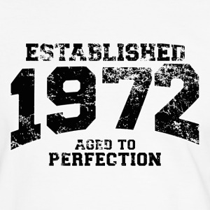 established 1972 - aged to perfection(fr) Tee shirts - T-shirt contraste Homme