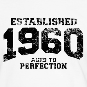 established 1960 - aged to perfection(fr) Tee shirts - T-shirt contraste Homme