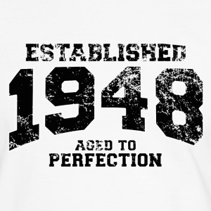 established 1948 - aged to perfection(it) T-shirt - Maglietta Contrast da uomo