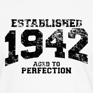 established 1942 - aged to perfection (fr) Tee shirts - T-shirt contraste Homme
