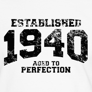 established 1940 - aged to perfection (fr) Tee shirts - T-shirt contraste Homme