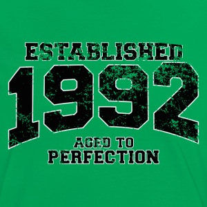 established 1992 - aged to perfection(it) T-shirt - Maglietta Contrast da donna