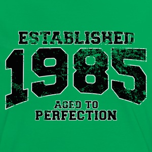 established 1985 - aged to perfection(fr) Tee shirts - T-shirt contraste Femme