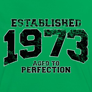 Geburtstag - established 1973 - aged to perfection - Frauen Kontrast-T-Shirt