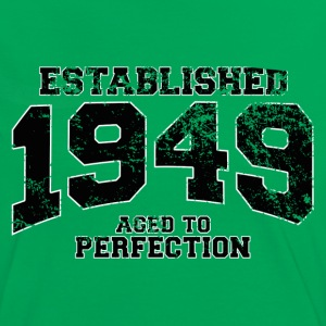 established 1949 - aged to perfection(fr) Tee shirts - T-shirt contraste Femme