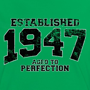 established 1947 - aged to perfection (fr) Tee shirts - T-shirt contraste Femme